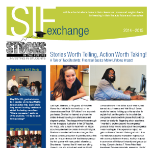Read our '14 -'15 Annual Newsletter